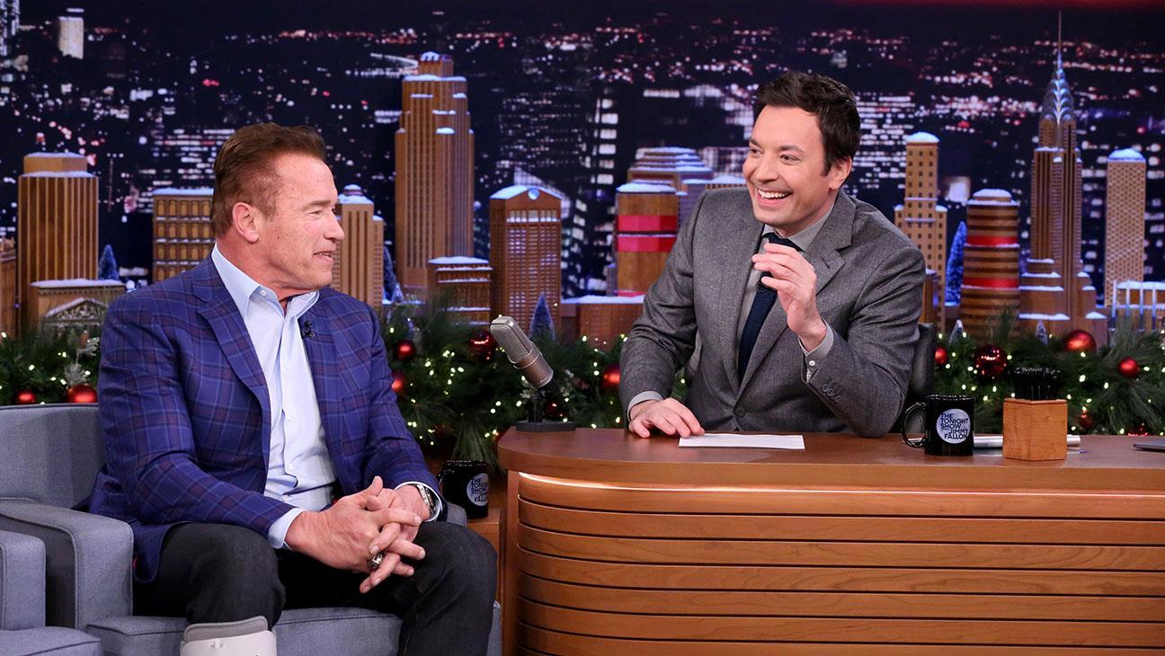 Jimmy Fallon and Arnold Schwarzenegger Brainstorm New 'Apprentice' Catchphrases