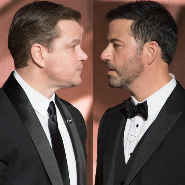 Jimmy Kimmel and Matt Damon's 13-Year