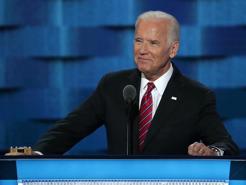 Joe Biden Filming Appearance on Law & Order