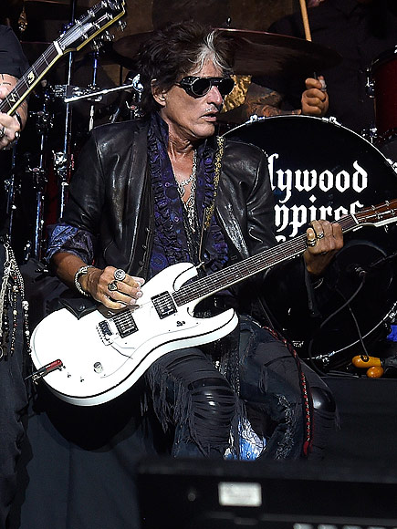 Joe Perry in Stable Condition After Collapsing During Performance with Johnny Depp