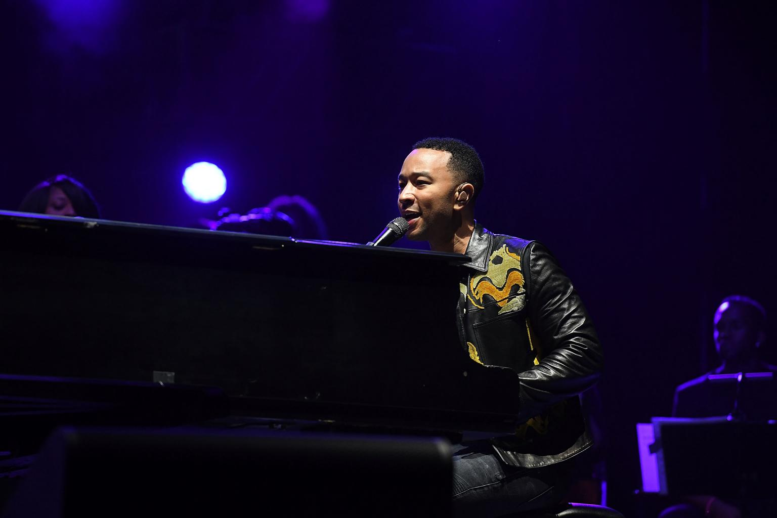 John Legend Performs New Single, Dishes On Whether Or Not Baby Luna Has His Musical Talents