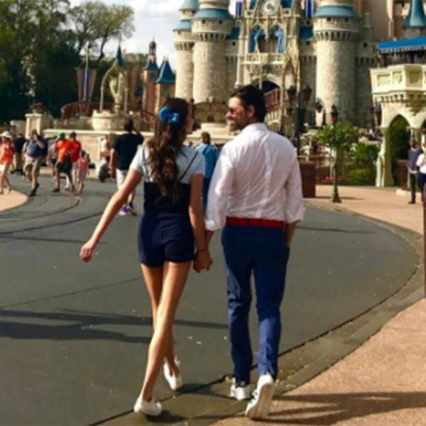John Stamos Says He's the ''Prince Eric'' to Girlfriend Caitlin McHugh's ''Ariel'' During Romantic Walt Disney World Adventure