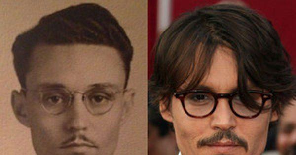 Johnny Depp Mysteriously Looks Exactly Like This Great Grand