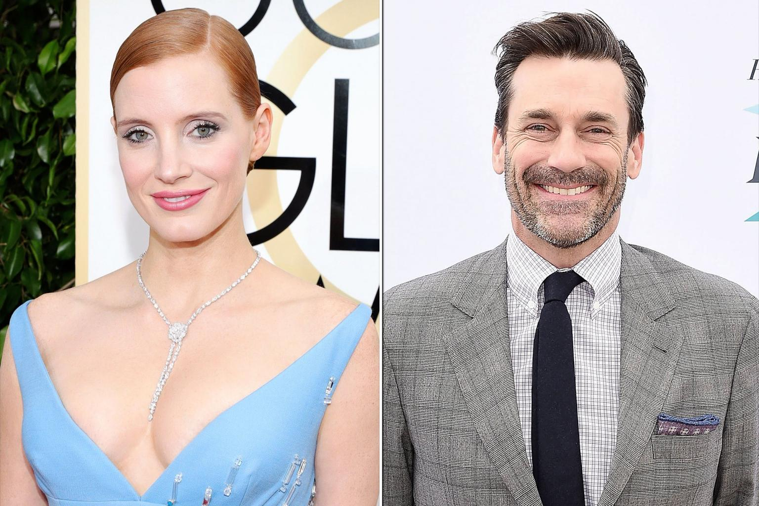 Jon Hamm and Jessica Chastain to Present at 2017 Film Independent Spirit Awards