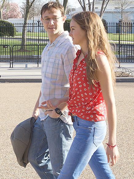 Joseph Gordon-Levitt and Shailene Woodley Share a Kiss in Exclusive Snowden Sneak Peek