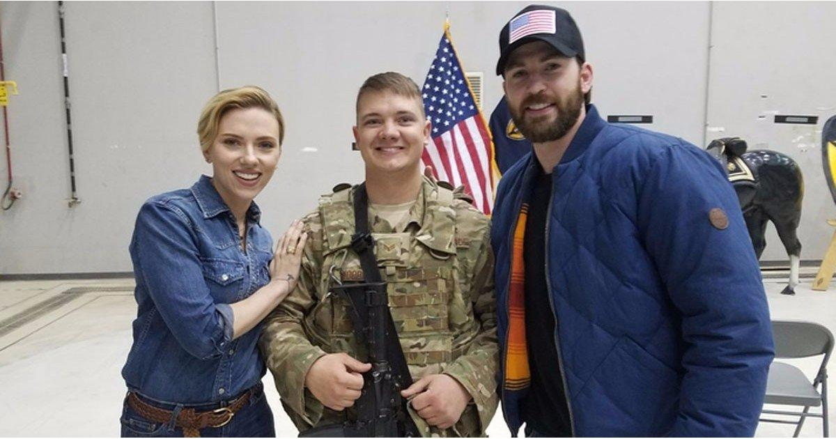 Just When We Thought Chris Evans Couldn't Get Any More Lovable, He Does This