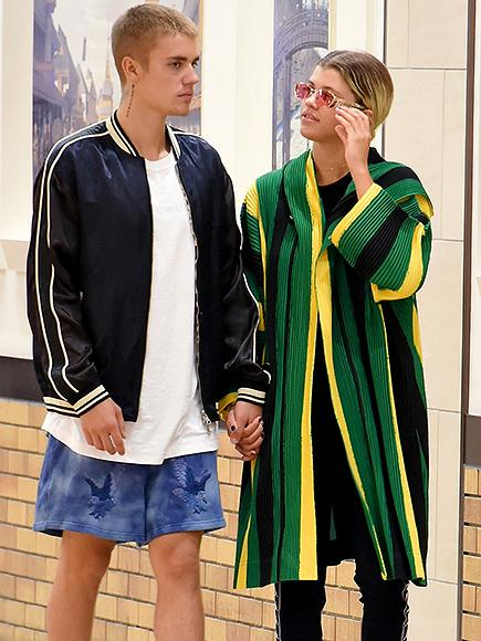 Justin Bieber Holds Hands with Sofia Richie and Speaks Out Against Fans Who Have Made 'Mean' Comments