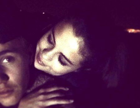 Justin Bieber Shares a Throwback Photo Kissing Selena Gomez