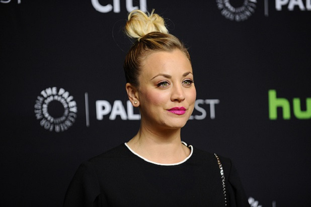 Kaley Cuoco Apologizes for Dogs Sitting on American Flag:   'I Am Not Perfect '  (Photos)