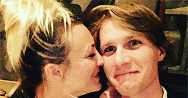 Kaley Cuoco Shows PDA With Karl Cook Again: