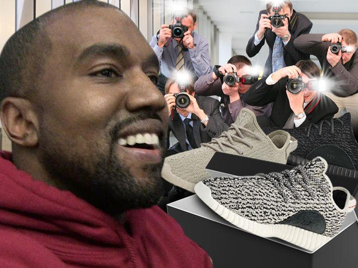 Kanye West -- Delivers on Promise ... Free Yeezys for Paps! (Photo)