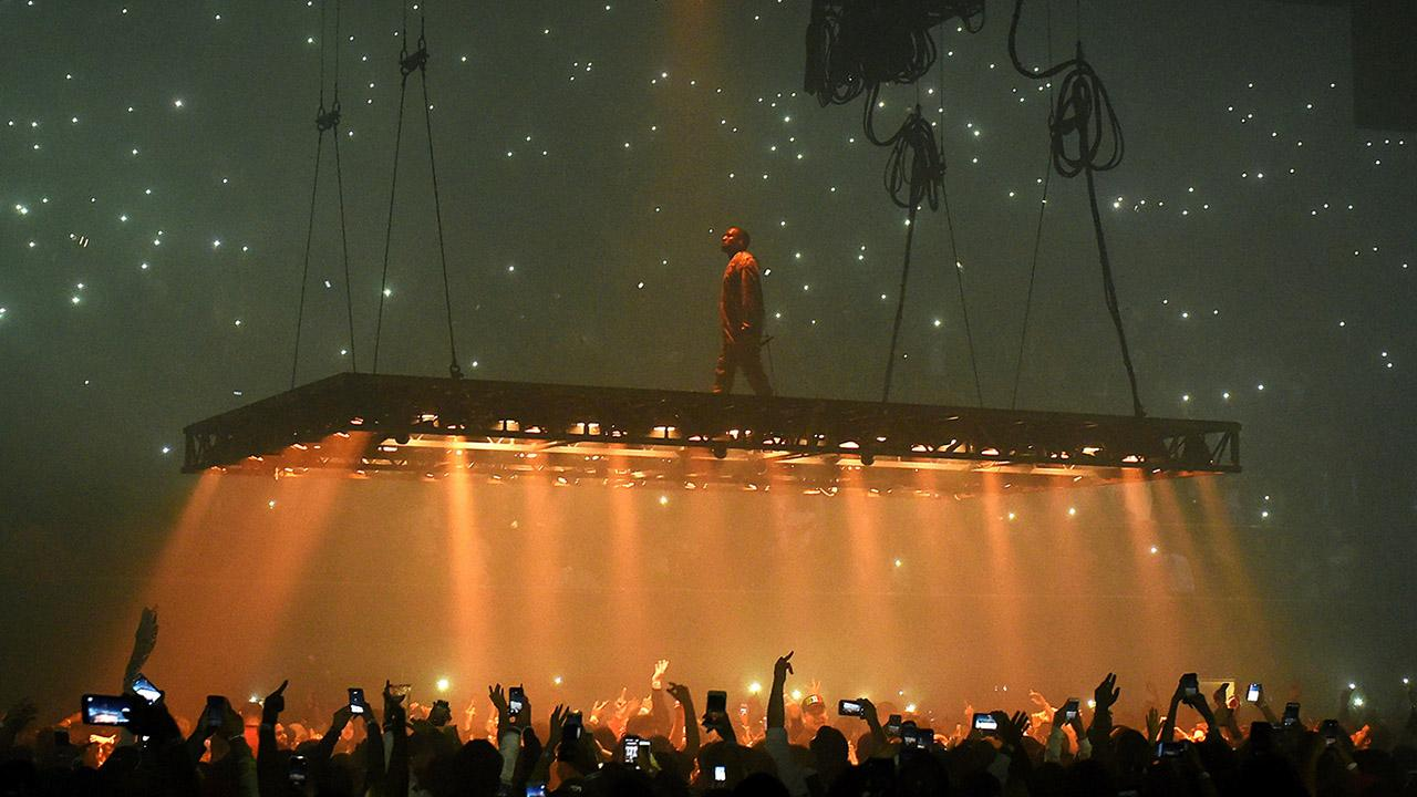 Kanye West Ends Concert Early After Losing His Voice, Apologizes to Star-Studded Crowd