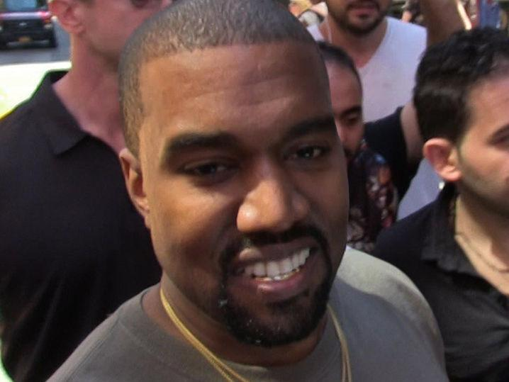 Kanye West -- Get in Line for His Line
