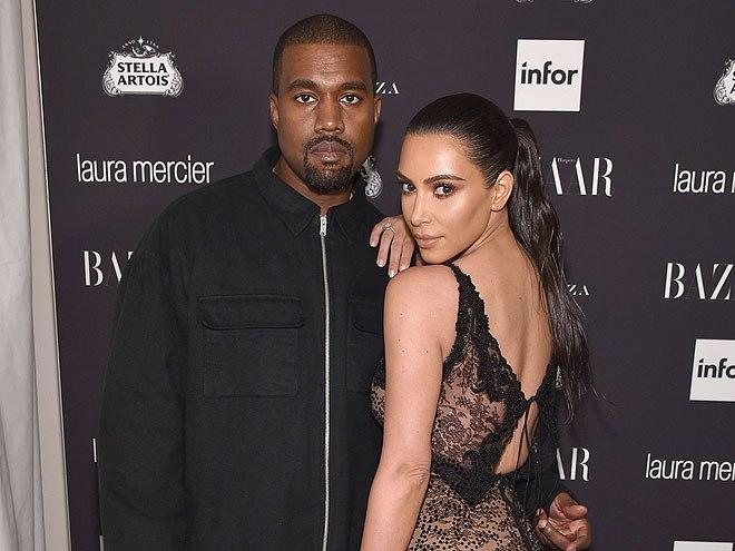 Kanye West Will Stay in Hospital for        Several More Days      '        '  as Kim Kardashian Spends Thanksgiving Morning by His Side