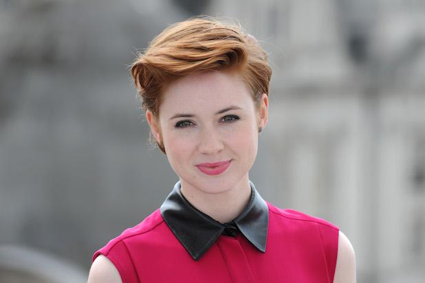 Karen Gillan on    Guardians of the Galaxy '  Sequel:   'I Shaved Half My Head This Time
