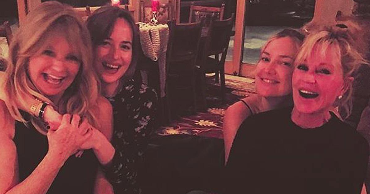 Kate Hudson and Dakota Johnson Have the Cutest Double Mother