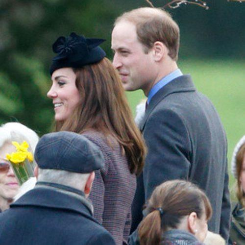 Kate Middleton Looks Sharp as She & Prince William Head to C