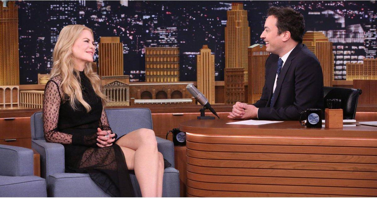Keith Urban Comes Between Nicole Kidman and Jimmy Fallon's Lovey-Dovey Reunion