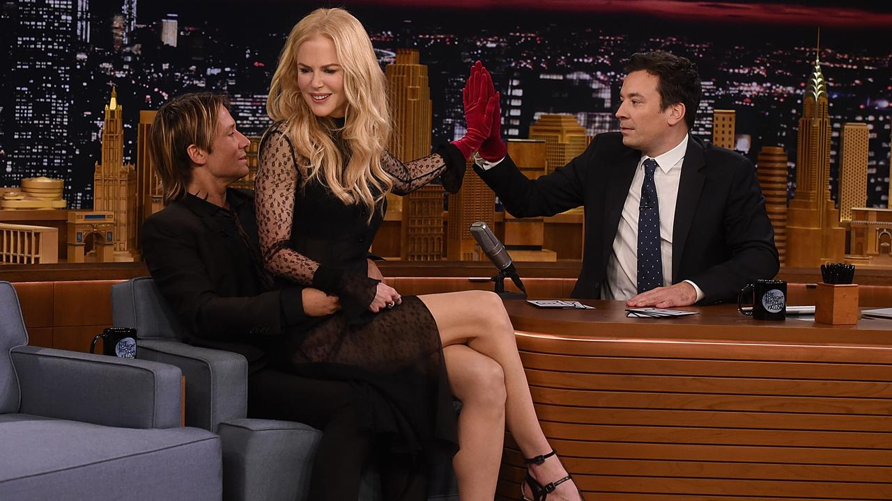 Keith Urban Rescues Nicole Kidman From Another Awkward 'Tonight Show' Interview With Jimmy Fallon