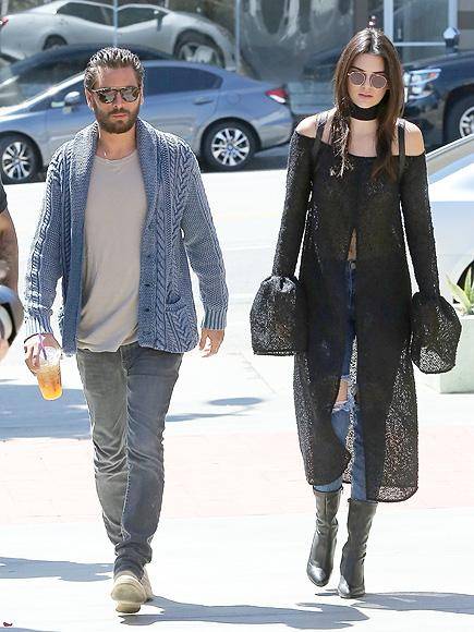 Kendall Jenner Has Friendly Run-In with Scott Disick and Tak