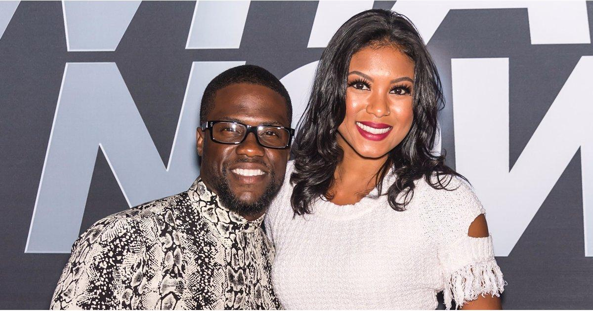 Kevin Hart Celebrates His New Film With Eniko Parrish After Shutting Down Baby Rumors