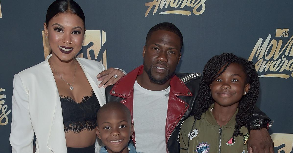 Kevin Hart Has the Support of His Family During His Big MTV