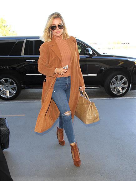 Khlo'  Kardashian's Flight Makes Emergency Landing in Las Veg
