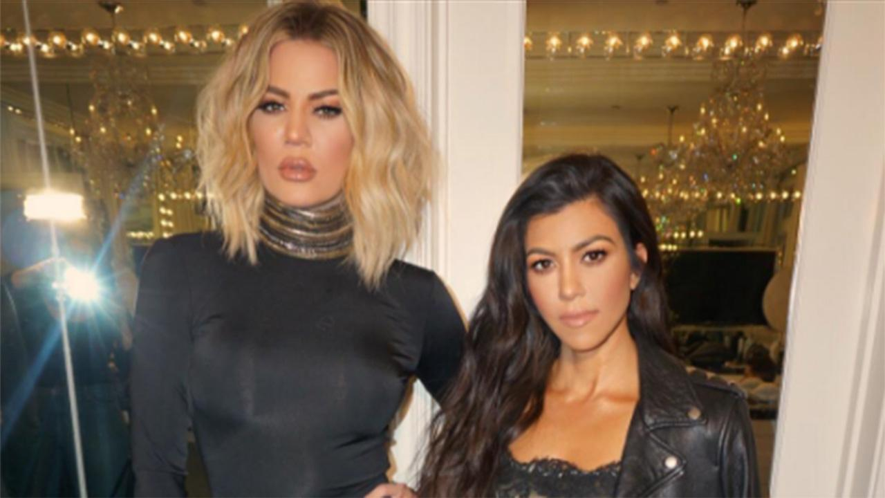 Khloe and Kourtney Kardashian Have 'A** Parade' in Bootylicious Snapchats: Pics!