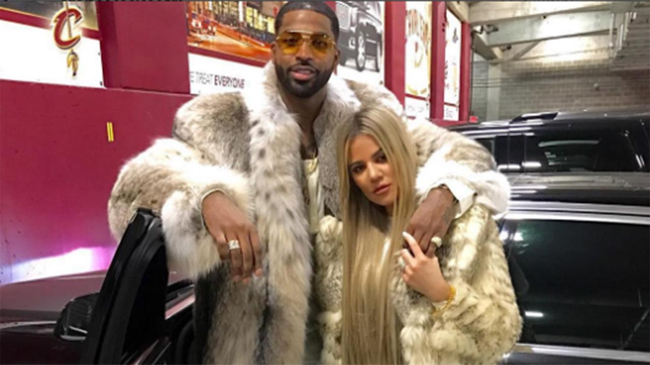 Khloe Kardashian Kisses, Grinds on Tristan Thompson in Sexy New Year  's Pics