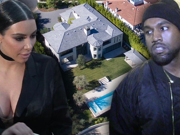 Kim and Kanye -- We're Fresh in Bel-Air ... Finally Out Of K