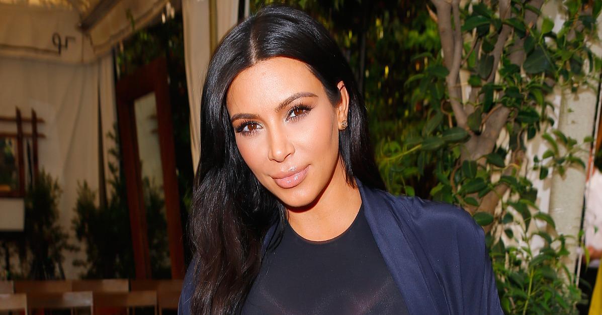 Kim Kardashian Shares a Precious Photo of North and Baby Sai