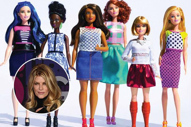 Kirstie Alley Bashes New Body-Positive Barbie Dolls:  Bring
