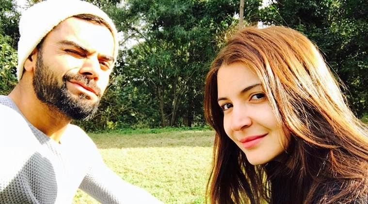 Virat Kohli  's Valentine  's Day message for girlfriend Anushka Sharma