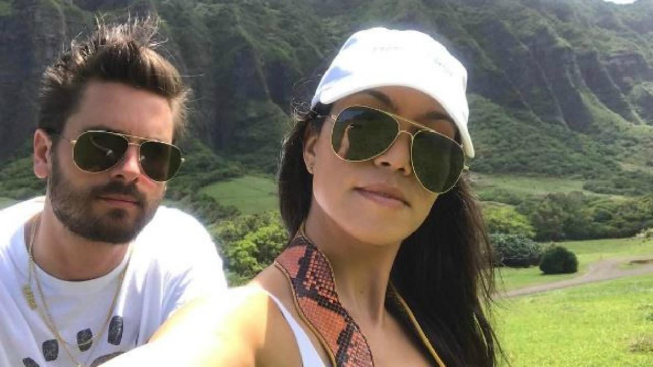 Kourtney Kardashian and Scott Disick Are 'Back At It Again With the Co-Parenting Skills' in Hawaii