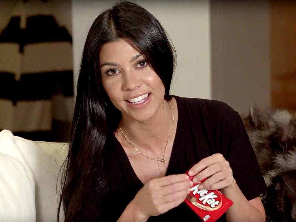 Kourtney Kardashian Has a 'Life-Changing' Way to Eat Kit Kat