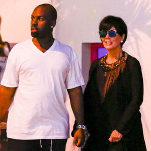 Kris Jenner and Her Boyfriend Vacation in St. Barts