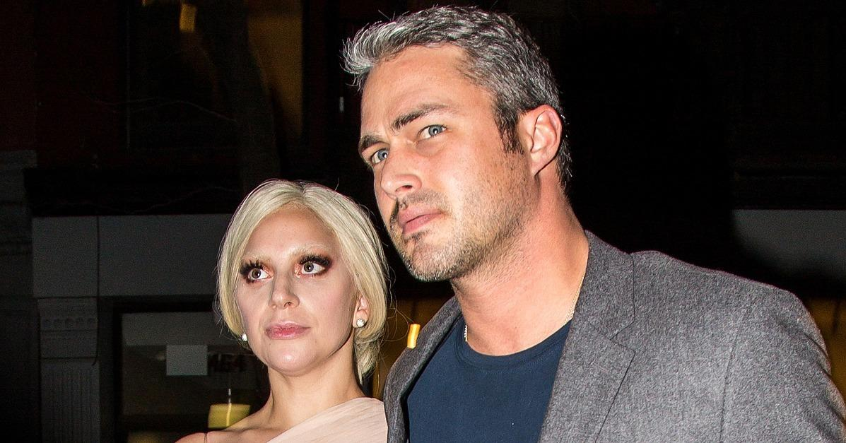 Lady Gaga and Taylor Kinney Look Like the Real-Life Cinderel