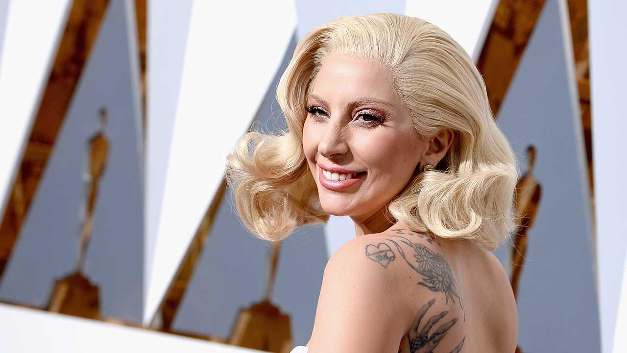 Lady Gaga Builds a Dance Floor in Her Backyard for Super Bowl Rehearsals