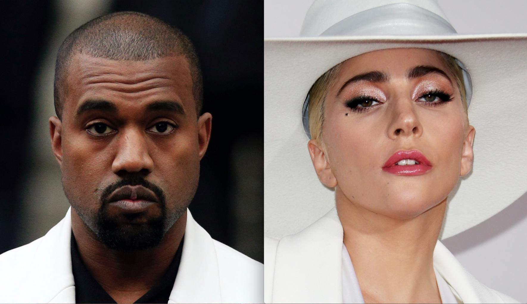 Lady Gaga Tweets Message Of Encouragement To Kanye West:       'I Support & Love U Brother