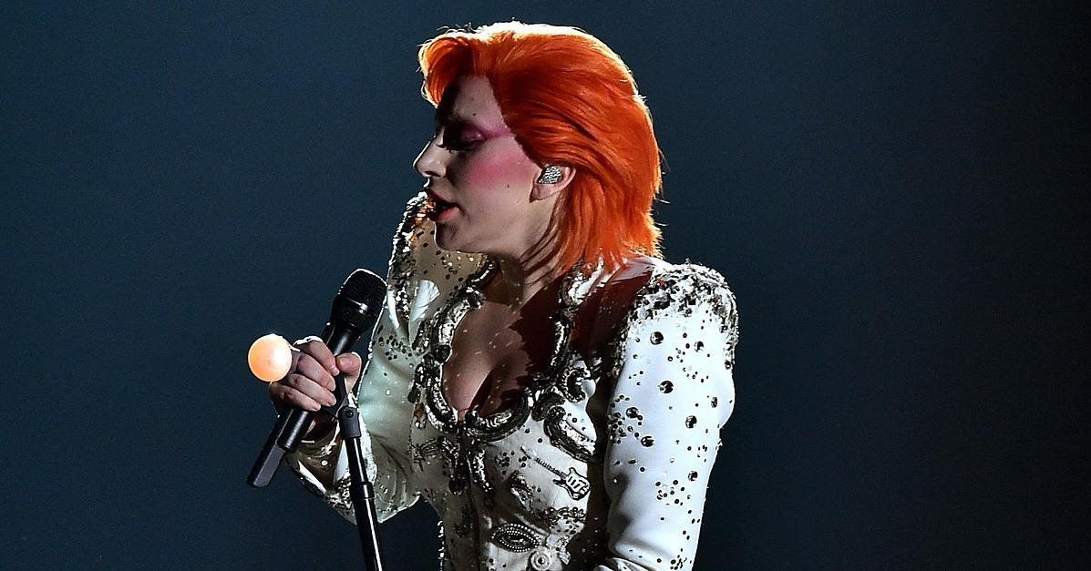 Lady Gaga Went Full-Tilt David Bowie at This Year's Grammy A