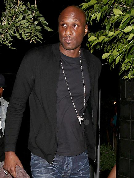 Lamar Odom Spotted Outside the Hospital for the First Time S