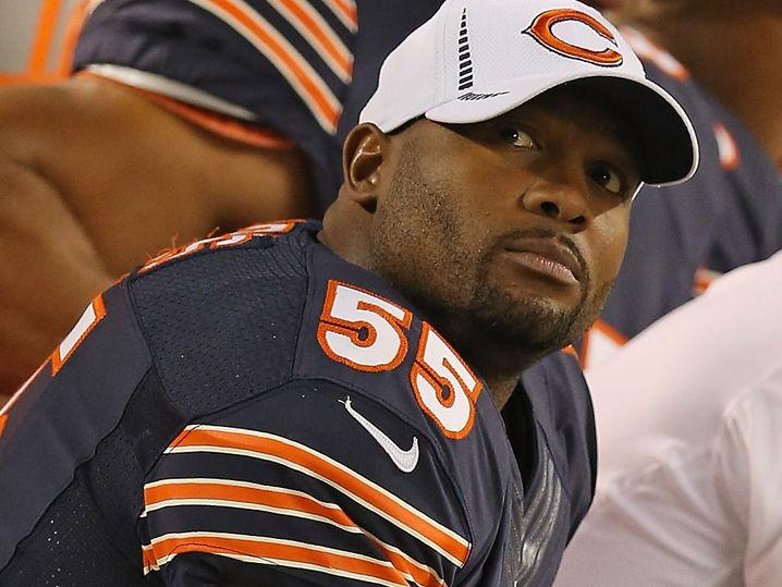 Lance Briggs -- Yo, Where's My Child Support? ... Allegedly Owes $37k