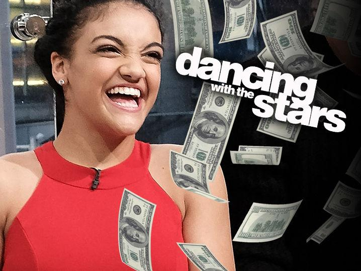 Laurie Hernandez -- Cha Cha Ching! ... I Made a Fortune On 'Dancing!'