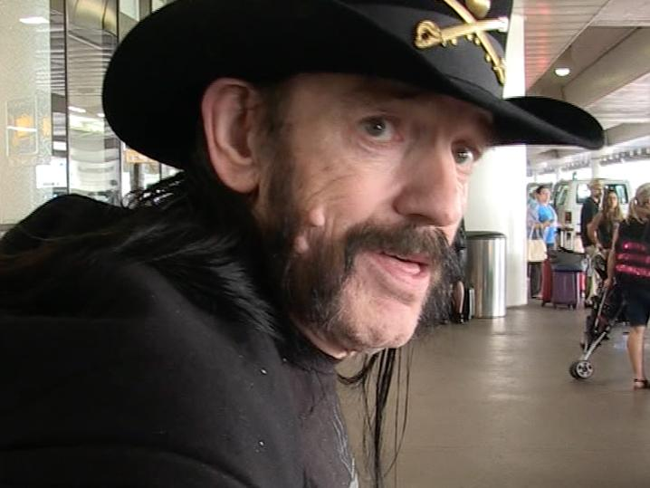 Lemmy -- All Systems Go for Tribute at the Rainbow (Photo &