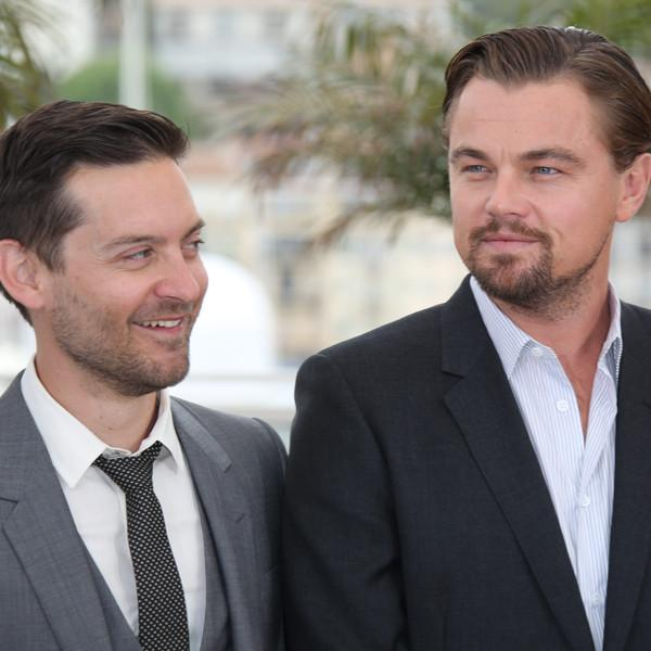 Leonardo DiCaprio and Tobey Maguire Have Guys' Night Out at Casamigos Halloween Party