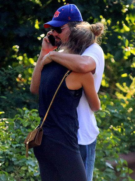 Leonardo DiCaprio Consoles Nina Agdal Moments After Hamptons Car Crash