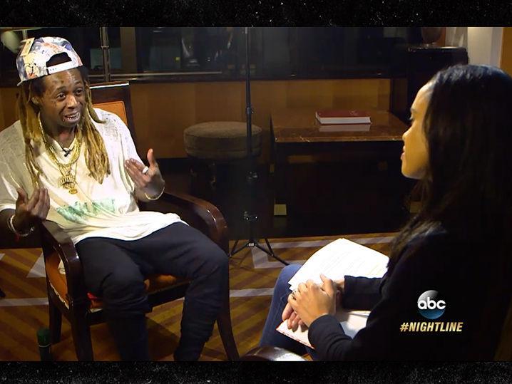 Lil Wayne -- Furiously Tried to Block 'Nightline' After Anti-blm Rant