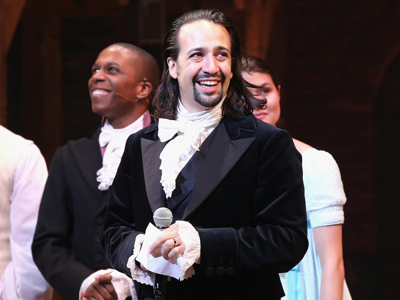 Lin-Manuel Miranda Disguised Himself to Watch Hamilton's Celebrity Crowd from the Audience