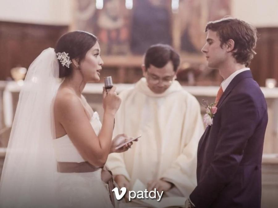 LOOK: Isabelle Daza and Adrien Semblat's official wedding photos