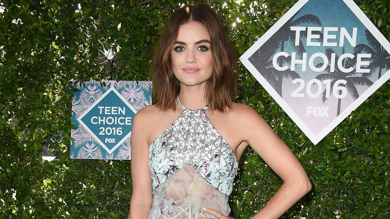 Lucy Hale Breaks Her Silence on Leaked Topless Photos: 'Whoever Did This       Kiss My A**'